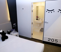 快適な客室 Sleep Box by Miracle Hotel